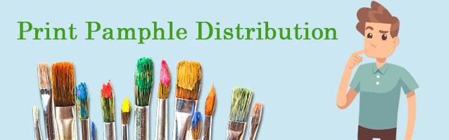Print Pamphlet Distribution
